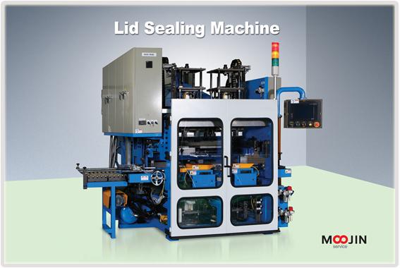 lid sealing machine